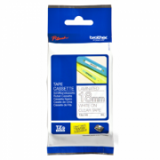 Brother TZe-145 Laminated Tape White on Clear, TZe, 8 m, 1.8 cm  20,00