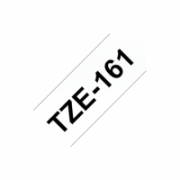 Brother TZe-161 Laminated tape Black on Clear, TZe, 8 m, 3.6 cm  23,00