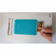 SALE OUT. Polaroid ZIP Mobile Printer Blue Polaroid DEMO,USED  92,00