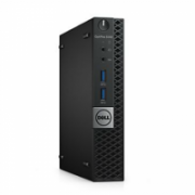 Dell OptiPlex 3040 Micro, Intel Core i3, i3-6100T, Internal memory 4 GB, DDR3, HDD 500 GB, 500 GB, Intel HD Graphics 530, Keyboard language English, Linux, Warranty 36 month(s)  411,00