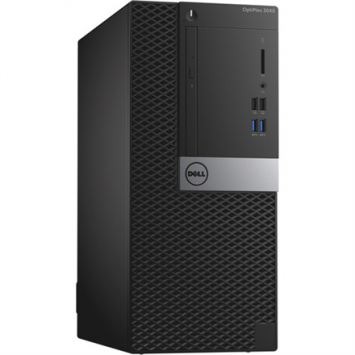 Dell Optiplex 3040 MT, Intel Core i3, i3-6100, Internal memory 4 GB, DDR3, Hard drive capacity 500 GB, HDD, Intel HD Graphics 530, Tray load DVD Drive (Reads and Writes to DVD/CD), Keyboard language English, Linux, Warranty 36 month(s)
