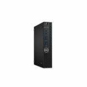 Dell OptiPlex 3050 Desktop, Micro, Intel Core i3, i3-7100T, Internal memory 8 GB, DDR4, SSD 256 GB, Intel HD, Keyboard language English, Linux  469,00
