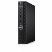 Dell OptiPlex 3050 Desktop, Micro, Intel Core i5, i5-7500T, Internal memory 8 GB, DDR4, SSD 256 GB, Intel HD, Keyboard language English, Linux, Warranty Basic Next Business Day 36 month(s)  623,00