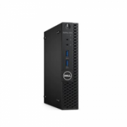 Dell OptiPlex 3050 Desktop, Micro, Intel Core i5, i5-7500T, Internal memory 8 GB, DDR4, SSD 256 GB, Keyboard language English, Windows 10 Pro, Warranty Basic Onsite 36 month(s)  568,00