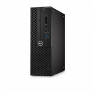 Dell OptiPlex 3050 Desktop, SFF, Intel Core i3, i3-7100, Internal memory 8 GB, DDR4, SSD 256 GB, Intel HD, DVD-RW Drive (Reads and Writes to DVD/CD), Keyboard language English, Linux, Warranty Basic Next Business Day 36 month(s)  530,00