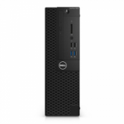 Dell OptiPlex 3050 Desktop, SFF, Intel Core i3, i3-7100, Internal memory 4 GB, DDR4, SSD 128 GB, Intel HD, DVD-RW Drive (Reads and Writes to DVD/CD), Keyboard language English, Windows 10 Pro, Warranty Basic Next Business Day 36 month(s)  557,00