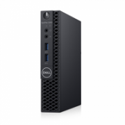Dell OptiPlex 3060 Desktop, Micro, Intel Core i3, i3-8100T, Internal memory 8 GB, DDR4, SSD 256 GB, Intel HD, Keyboard language No keyboard, Windows 10 Pro, Warranty Basic Onsite 36 month(s)  479,00