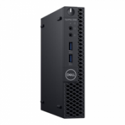 Dell OptiPlex 3060 Desktop, Micro, Intel Core i5, i5-8500T, Internal memory 4 GB, DDR4, SSD 128 GB, Intel HD, Keyboard language English, Windows 10 Pro, Warranty Basic Onsite 36 month(s), Wi-Fi  589,00