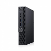 Dell OptiPlex 3070 Desktop, Micro, Intel Core i3, i3-8100T, Internal memory 8 GB, DDR4, SSD 256 GB, Intel HD, Keyboard language No keyboard, Windows 10 Pro, Warranty Basic Onsite 36 month(s)  603,00