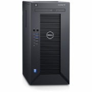 "Dell PowerEdge T30 Tower, Intel Xeon, E3-1225 v5, 3.3 GHz, 6 MB, 4T, 4C, 8 GB, UDIMM DDR4, 2133 MHz, 1000 GB, 7200 RPM, SATA, 6 Gbit/s, Up to 4 x 3.5"", Power supply 290 W, No OS, Warranty Basic Onsite 36 month(s)  377,00"