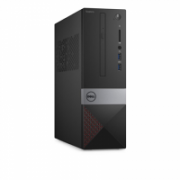 Dell Vostro 3268 Desktop, SFF, Intel Core i5, i5-7400, Internal memory 8 GB, DDR4, SSD 256 GB, Intel HD, Tray load DVD Drive (Reads and Writes to DVD/CD), Keyboard language English, Linux, Warranty Basic Next Business Day 36 month(s)  585,00
