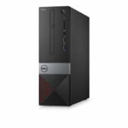 Dell Vostro 3470 Desktop, SFF, Intel Core i3, i3-8100, Internal memory 4 GB, DDR4, HDD 1000 GB, Intel HD, Tray load DVD Drive (Reads and Writes to DVD/CD), Keyboard language English, Linux, Warranty Basic Onsite 48 month(s),  378,00