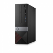 Dell Vostro 3471 Desktop, SFF, Intel Core i3, i3-9100, Internal memory 4 GB, DDR4, SSD 128 GB, Intel HD, Tray load DVD Drive (Reads and Writes to DVD/CD), Keyboard language English, Linux, Warranty 36 Basic OnSite month(s), Wi-Fi  350,00