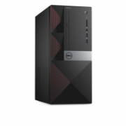 Dell Vostro 3668 Desktop, Tower, Intel Core i3, i3-7100, Internal memory 4 GB, DDR4, HDD 500 GB, Intel HD, Tray load DVD Drive (Reads and Writes to DVD/CD), Keyboard language English, Russian, Linux, Warranty 36 month(s), 802.11BGN, Black/Red, 7200 RPM, 4  331,00
