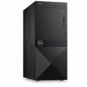Dell Vostro 3670 Desktop, Tower, Intel Core i5, i5-8400, Internal memory 8 GB, DDR4, SSD 256 GB, Intel HD, Tray load DVD Drive (Reads and Writes to DVD/CD), Keyboard language English, Linux, Warranty 36 month(s), Black, 802.11BGN, 4.0,  501,00