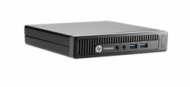 HP EliteDesk 800 Mini G1 i3-4160 4GB 500GB  Win 7 Pro 32Bit  511,00