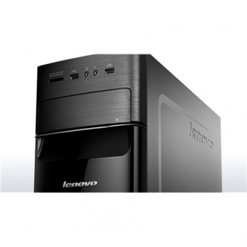 Lenovo Essential H535 Tower, AMD, A8 5500, Internal memory 4 GB, DDR3, Hard drive capacity 500 GB, HDD, Radeon HD Graphics, Keyboard language Russian, DOS, Warranty 12 month(s)