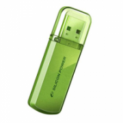 SILICON POWER 4GB, USB 2.0 FLASH DRIVE HELIOS 101, GREEN  33,00
