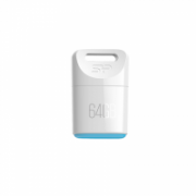 SILICON POWER 4GB, USB 2.0 FLASH DRIVE TOUCH T06, WHITE  10,00