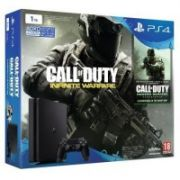 PS4 1TB D Chassis Black SLIM + Call of Duty Infinite Warfare Legacy Edition  350,00