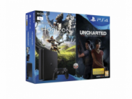 Sony Playstation 4 Slim 1TB + Horizon Zero Dawn + Uncharted: The Lost Legacy  393,00