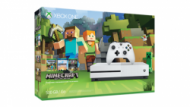 Xbox One S 500GB + Minecraft  301,00