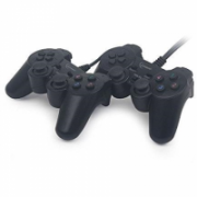 Gembird Double USB dual vibration gamepad  12,00