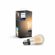 Philips Hue W xW ST64 E27, 7 W, White, Bluetooth and Zigbee  25,00