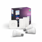 Philips Starter Kit E27 A60 E27, 9 W, White and Color Ambiance, Bluetooth and Zigbee  161,00