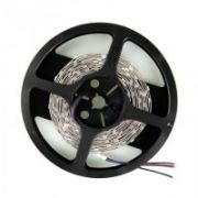 Whitenergy LED juosta 5m | 30vnt/m | 5050 | 7.2W/m | 12V DC | RGB | be jungties  10,00