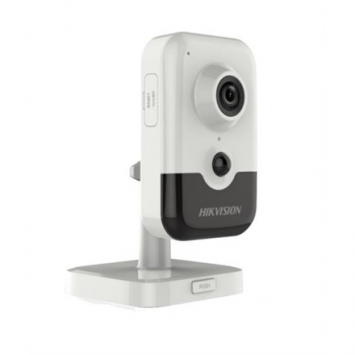 Hikvision IP Camera DS-2CD2421G0-IW F2.8 Cube, 2 MP, 2.8mm/F2.0, Power over Ethernet (PoE), H.264+, H.265+, Micro SD, Max.256GB