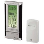 HAMA EWS-380 WEATHER STATION BL/SIL  45,00