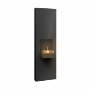 Tenderflame Fireplace Rock 90 Diameter 40 cm, 130 cm, 500 ml, Burning time about 5 hours, Black  464,90