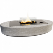 Tenderflame Table fireplace  Carnation 90 MgO  Diameter 33 cm, 7 cm, 500 ml, 5 hours, Grey  159,90