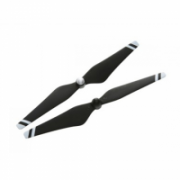 DJI 9450 Carbon Fiber Self-tightening Propeller Pair (composite hub, black with white stripes)  17,00
