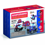 Magformers Amazing Police & Rescue Set  28,00
