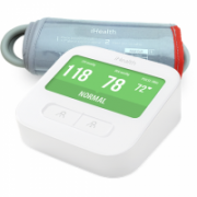 iHealth CLEAR Smart Blood Pressure Monitor  White, Weight 350 g, Wireless, Method of measurement: Oscillimetric with automatic inflation/deflation. The WiFi connection., measures blood pressure and pulse rate  102,00