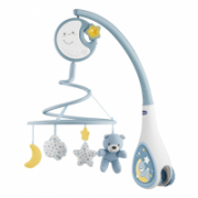 Chicco Next2Dreams Cot Mobile  Light blue, Batteries: 3 x AA 1,5 V (not included)  23,00