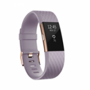 Fitbit Flex Charge 2 Lavender Rose Gold – Large FB407RGLVL-EU OLED, Lavender Rose Gold, Bluetooth, Built-in pedometer, Heart rate monitor, GPS (satellite), Waterproof  182,00