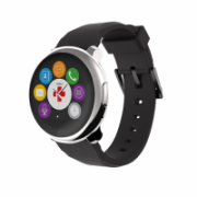 MyKronoz Smartwatch 63 g, black, Touchscreen, Bluetooth, Waterproof, silver, Yes, 300 mAh  93,00