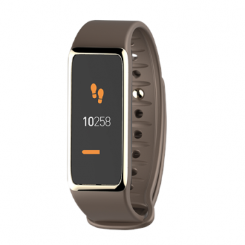 MyKronoz Zefit 3 Smartwatch, Brown, 80 mAh, Touchscreen, Bluetooth, Waterproof