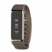 MyKronoz Zefit 3HR 100 mAh, Touchscreen, Bluetooth, Heart rate monitor, Waterproof, Smartwatch, Brown,  57,00
