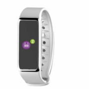 MyKronoz Zefit 3HR 100 mAh, Touchscreen, Bluetooth, Heart rate monitor, Waterproof, Smartwatch, White, White  57,00