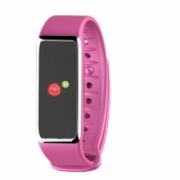 MyKronoz Zefit 3HR 100 mAh, Touchscreen, Bluetooth, Heart rate monitor, Waterproof, Smartwatch, Pink/Silver,  57,00