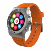 MyKronoz ZESPORT Touchscreen, Bluetooth, Heart rate monitor, Waterproof, Smartwatch, Titanium/orange, GPS (satellite)  173,00