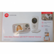 "SALE OUT. Motorola MBP667connect Wi-Fi Video Baby Monitor, 2.8"" Monitor, White Motorola MBP667connect DEMO, White,  Wi-Fi Video Baby Monitor, Wireless  124,00"