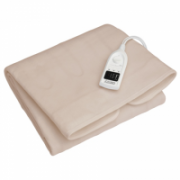 Camry Electric blanket CR 7407 Number of heating levels 5, Number of persons 1, Washable, Soft polar fleece, 60 W, White  21,90