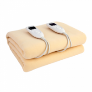 Camry Electric blanket CR 7408  Number of heating levels 5, Number of persons 2, Washable, Soft polar fleece, 2 x 60 W, Beige  33,00