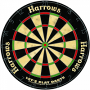 Dartboard HARROWS LET'S PLAY DARTS GAME SET  28,00