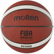 Basketball ball competition MOLTEN B6G3800 FIBA, synth. leather size 6  33,00